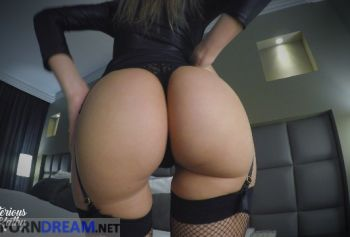 Sexy ass in stockings wants to fuck in dog