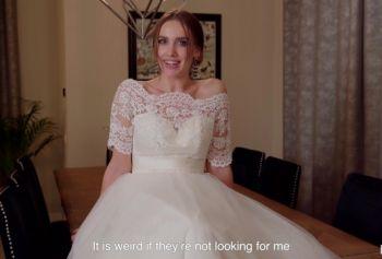 Романтичная невеста в белой фате и чулках выпила перед свадьбой и переспала со свидетелем